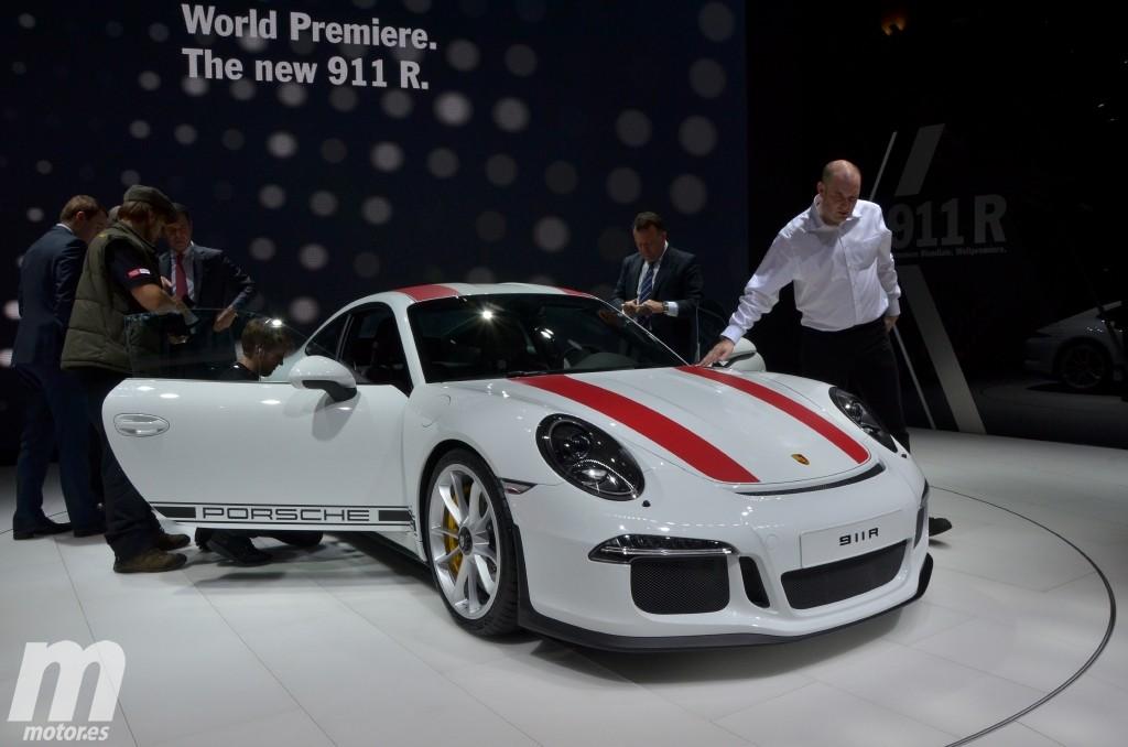 """Porsche 911 R, el """"nueveonce"""" más purista llega a Ginebra"""