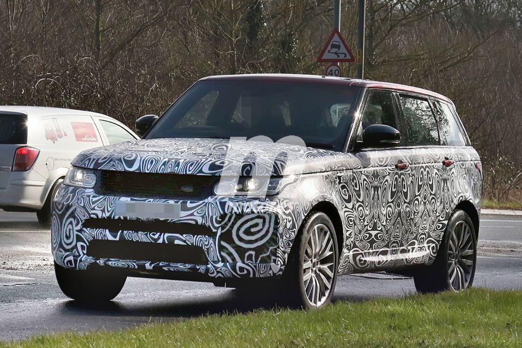 El Range Rover Sport SVR 2017 sale a pasear con nueva imagen