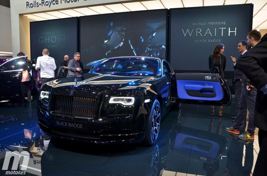 Black Badge Edition, los Rolls-Royce Ghost y Wraith más oscuros