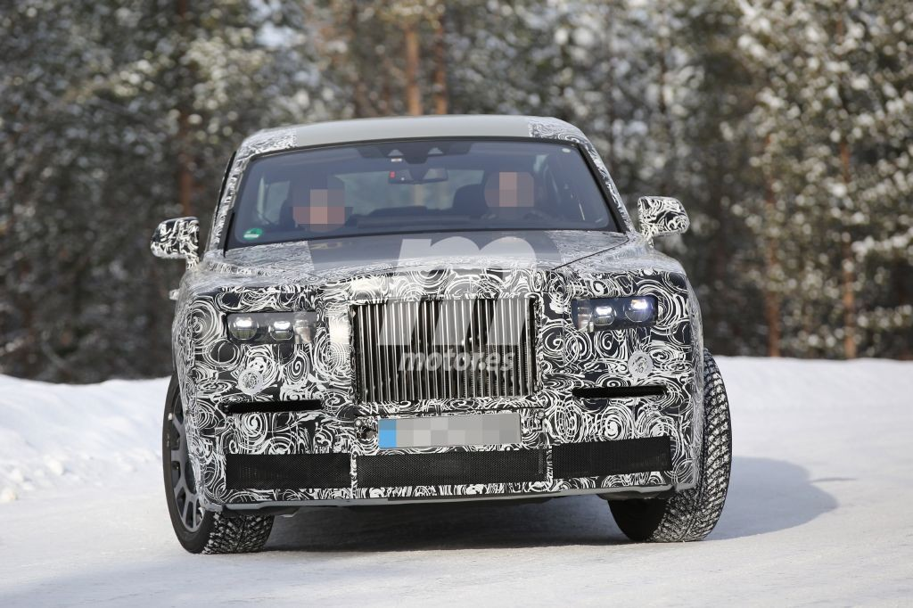 Rolls-Royce Phantom II 2018, también con carrocería alargada