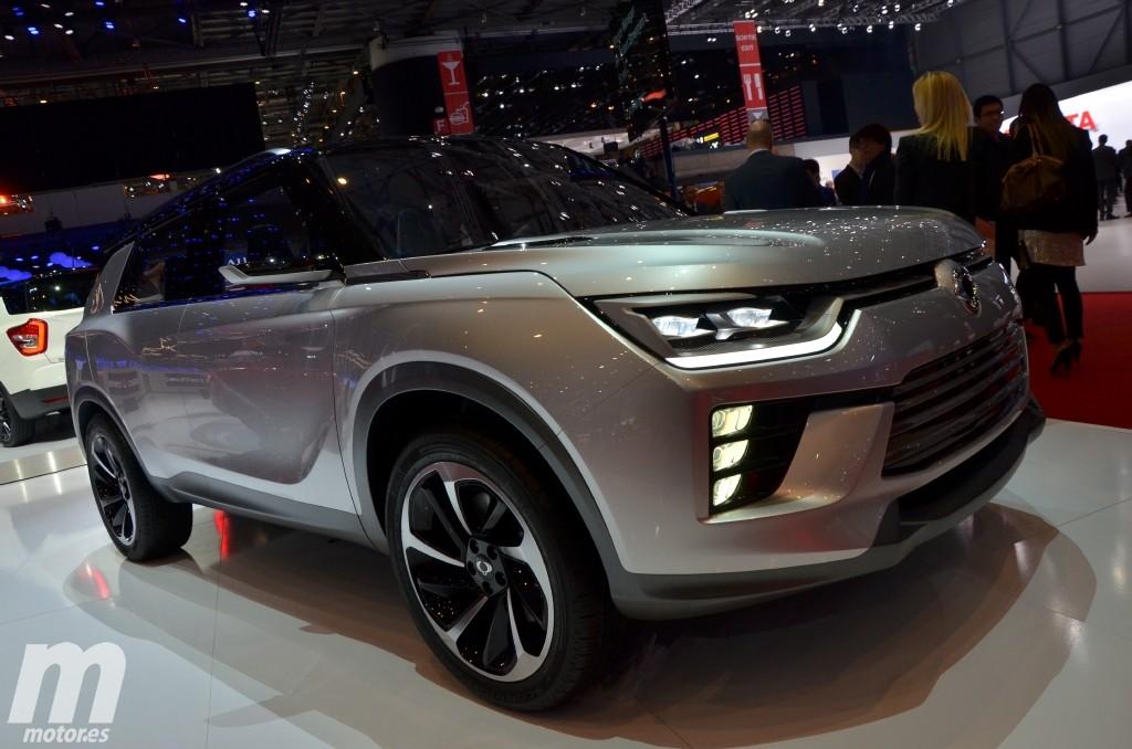 SsangYong SIV-2 Concept, el futuro de la movilidad eléctrica para los coreanos