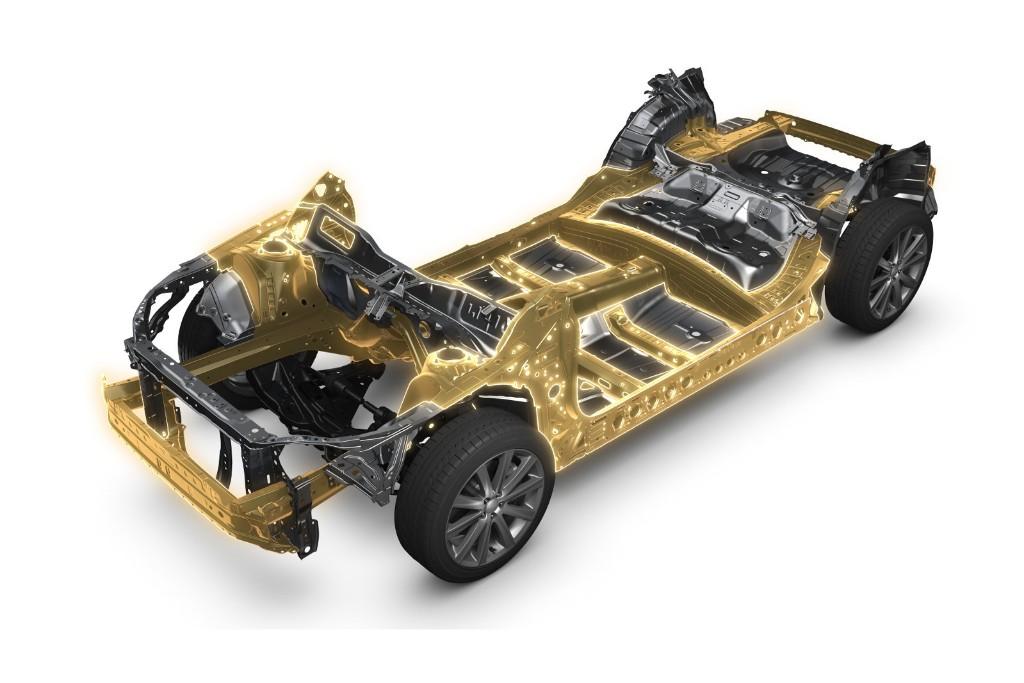 Esta es la nueva plataforma global de Subaru, que dará forma al Impreza 2017