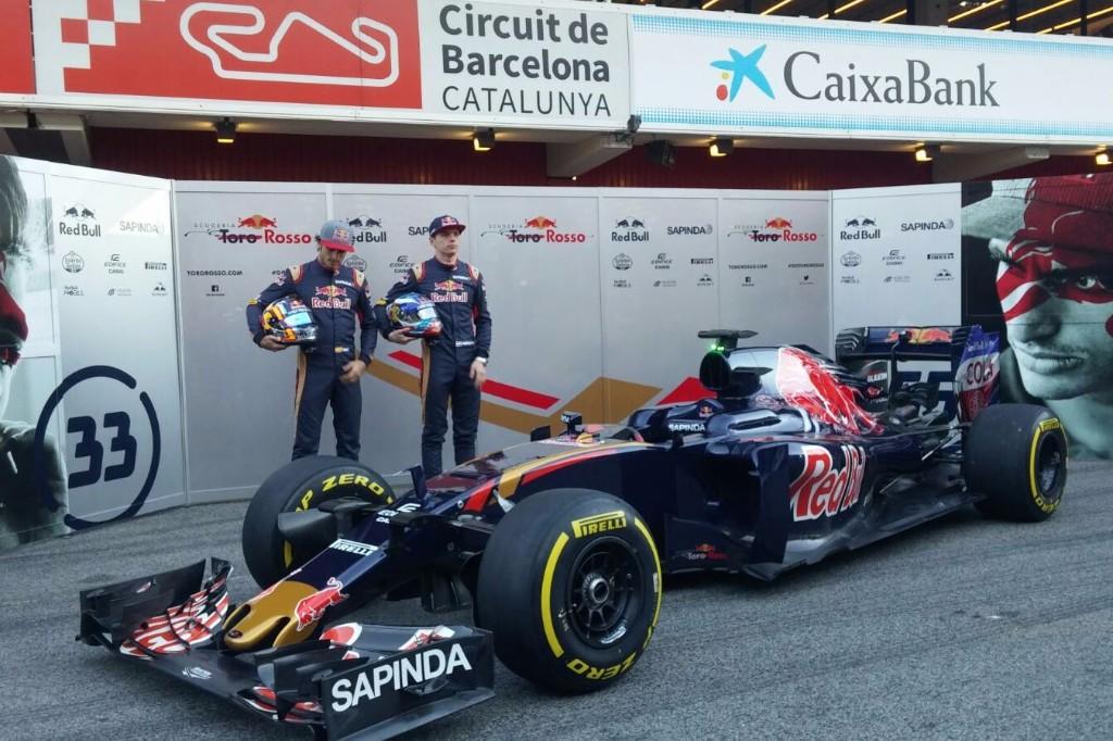 Toro Rosso presenta su nueva decoración para 2016