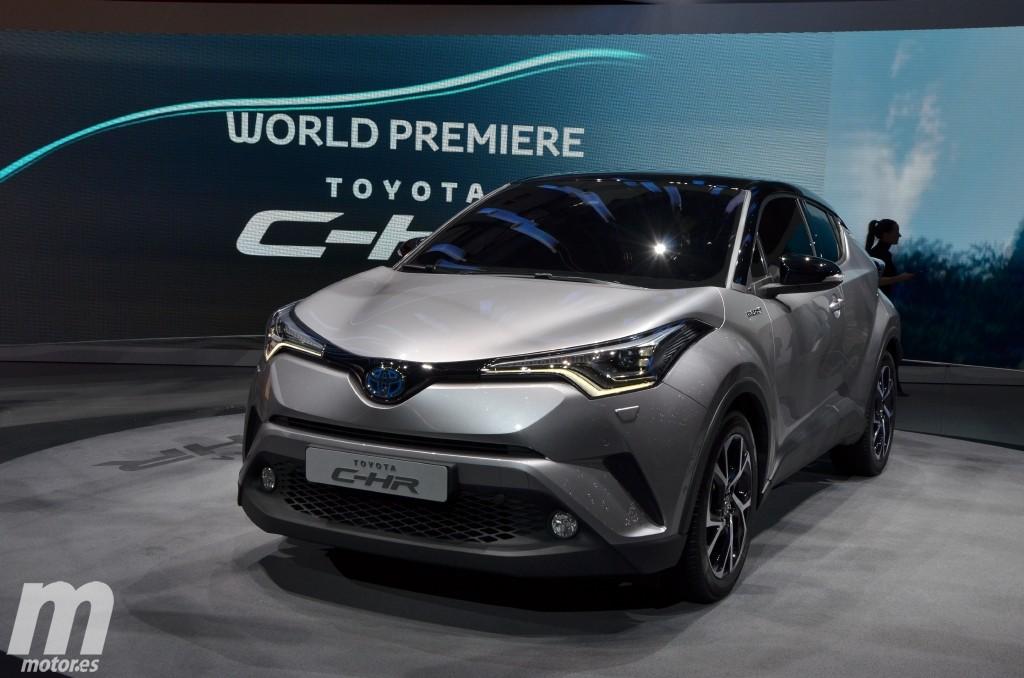 Toyota C-HR, el nuevo crossover híbrido japonés