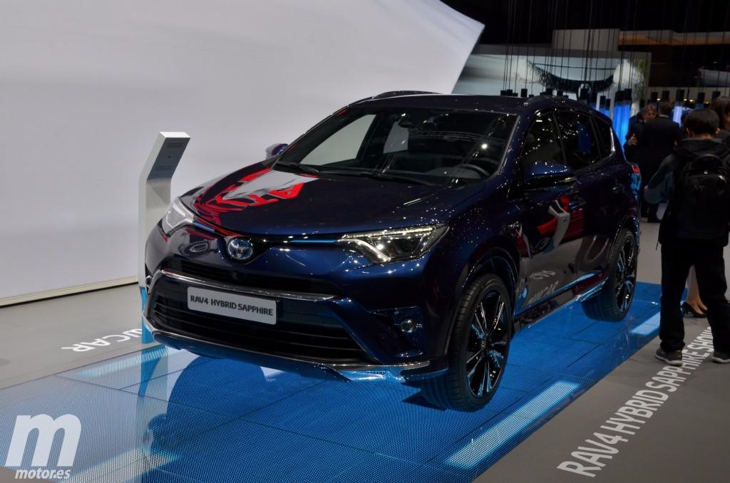 Toyota RAV4 Hybrid Sapphire, anticipando futuras novedades