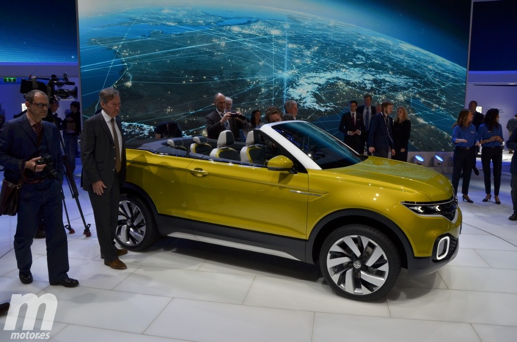 Volkswagen T-Cross Breeze, anticipando un crossover basado en el Polo