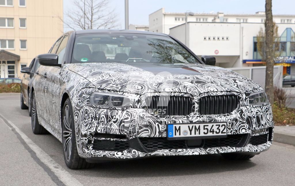 Cazado el BMW Serie 5 2017 con el paquete M Sport