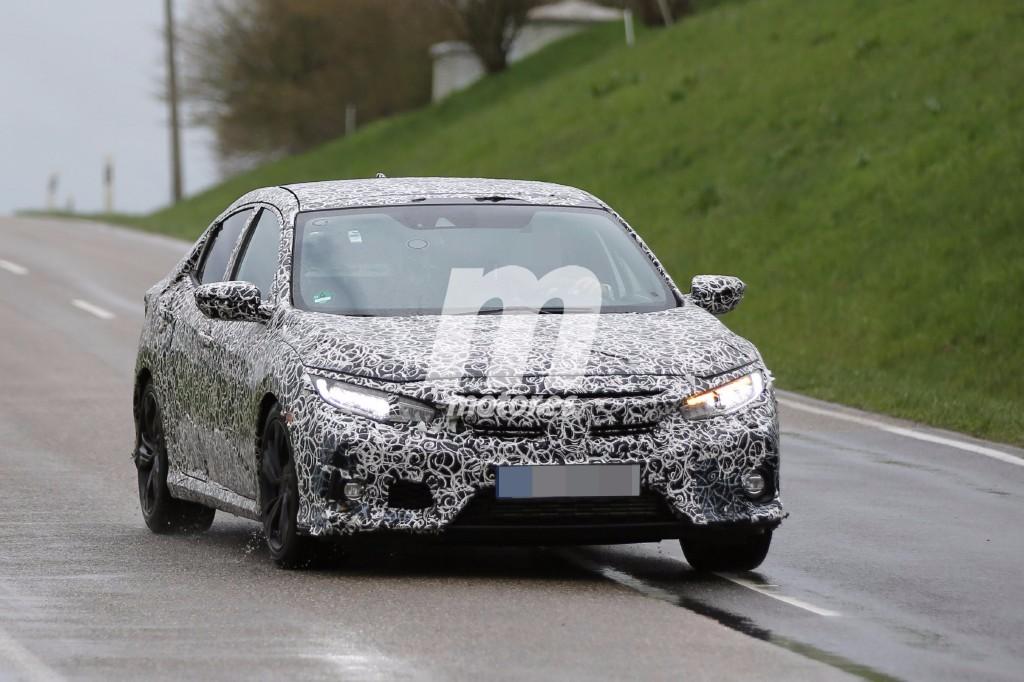 El Honda Civic 5 puertas europeo ya comienza a rodar