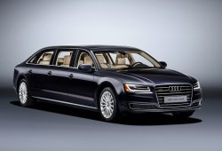 Audi A8 L Extended, una limusina de lujo de seis puertas y seis asientos