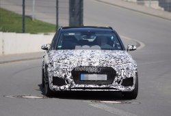 Cazado el nuevo Audi RS4 Avant 2017 de producción