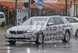 El BMW Serie 5 Touring 2017 ya muestra su aspecto definitivo