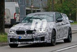 El BMW M5 G30 sale de paseo en su carrocería definitiva