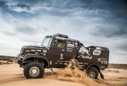 Kamaz prueba su 'nuevo' camión para el Dakar 2017