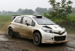 El Toyota Yaris WRC de TMR debuta con 1.000 kilómetros