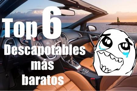 Top 6 de los descapotables más baratos en España