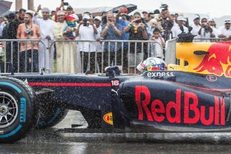 El músculo publicitario de Red Bull, de Omán a el Líbano