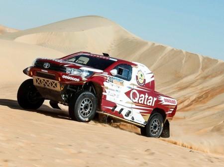 Nasser Al-Attiyah gana el Abu Dhabi Desert Challenge