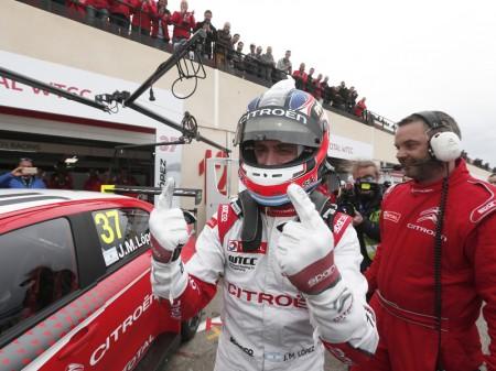 'Pechito' gana la carrera principal del WTCC en Francia