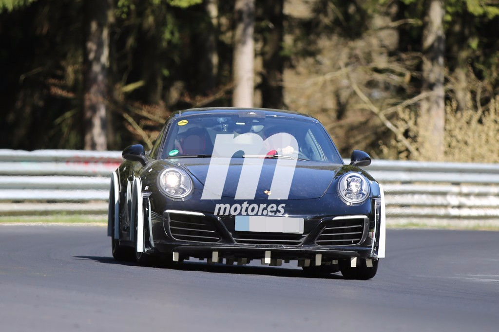 El Porsche 911 2018 ya rueda por el circuito de Nürburgring