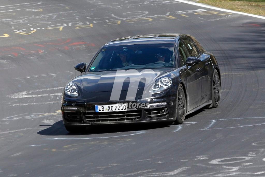 El Porsche Panamera Shooting Brake 2017 cazado en Nürburgring