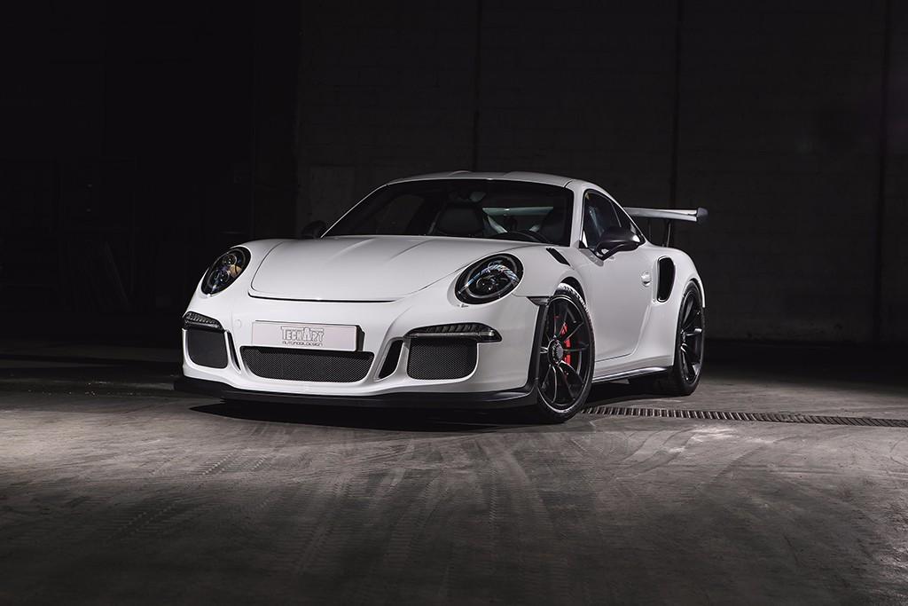 TechArt presenta su paquete Carbon Sport para el Porsche 911 GT3 RS