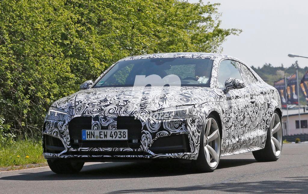 El Audi RS5 2017 estrenará un nuevo motor V6 turbo