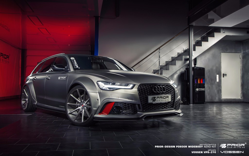 PD600R: el nuevo kit Widebody para el Audi RS6 Avant de Prior Design