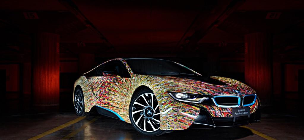BMW i8 Futurism Edition, un 'art car' creado por BMW y Garage Italia Customs