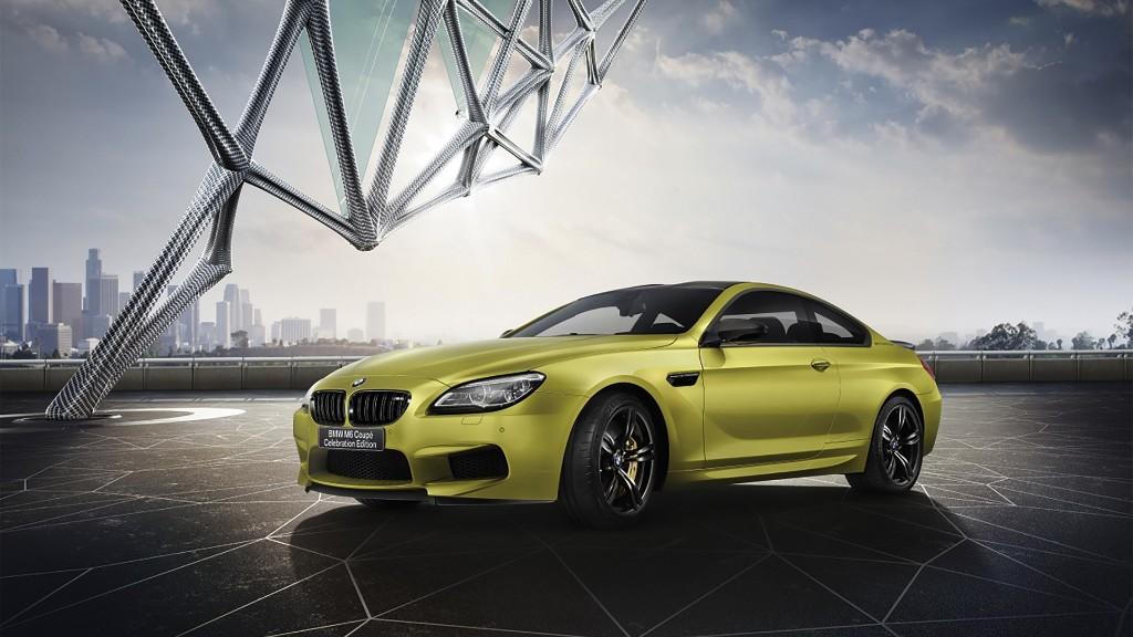 BMW M6 Coupé Celebration Edition, 600 CV en forma de edición especial de aniversario