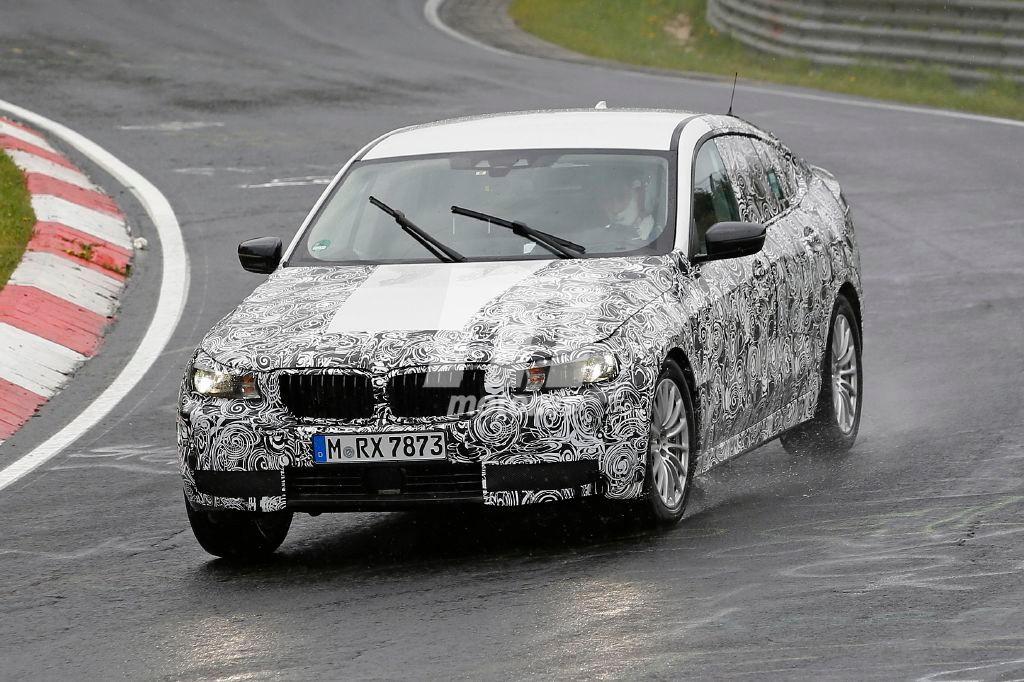 El nuevo BMW Serie 5 GT 2017 sigue ultimando su desarrollo