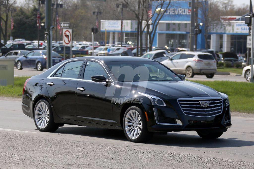 El Cadillac CTS 2017 ya está casi listo para su lanzamiento