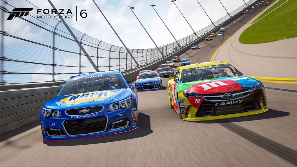 El Forza Motorsport 6 recibe una expansión para los amantes de la NASCAR