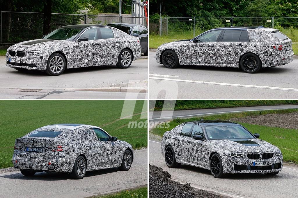 Las fotos espía definitivas del nuevo BMW Serie 5, la gama al completo