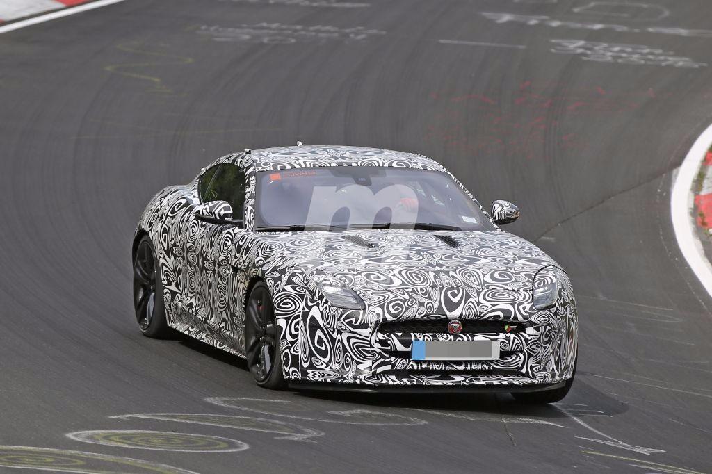 El nuevo Jaguar F-Type 2017 cazado, se avecina una esperada puesta a punto