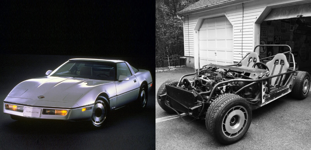 Se fabrica un kart V8 al más puro estilo Mad Max con Chevrolet Corvette de 1984