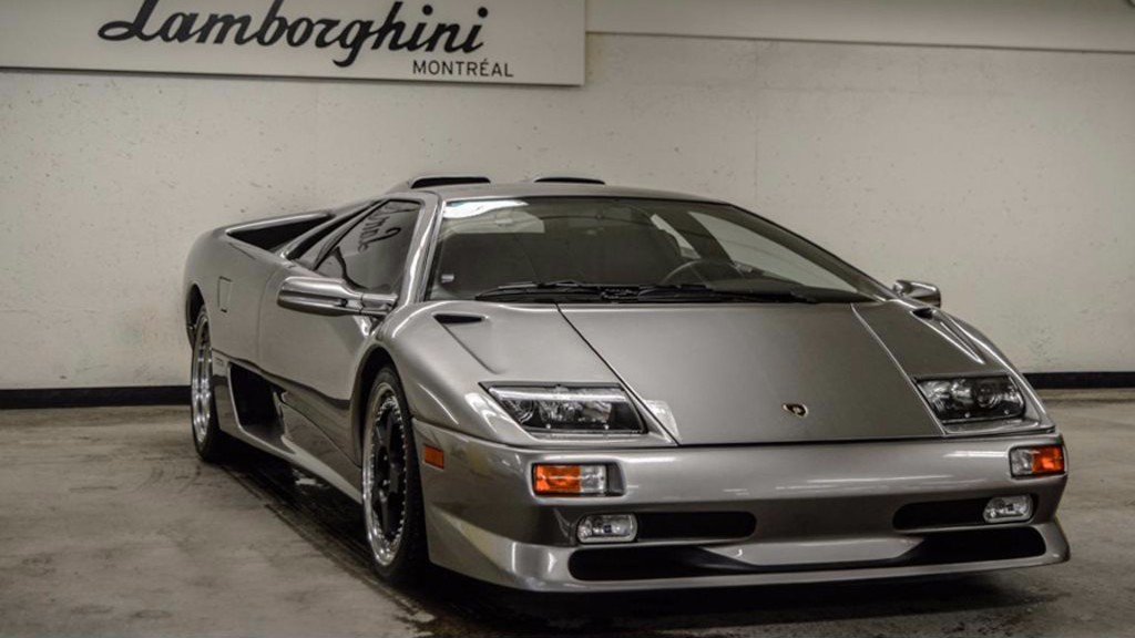 Este Lamborghini Diablo SV casi a estrenar está a la venta ¿Lo quieres?