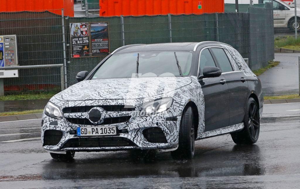 Mercedes AMG E63 Estate 2017, la bestia familiar sigue afinándose