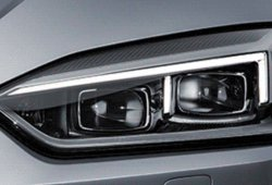 Estos son los faros del nuevo Audi A5 2017