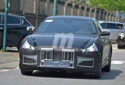 El Maserati Quattroporte se somete a cirugía