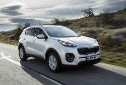 Reino Unido - Abril 2016: El Kia Sportage repite en el Top 10