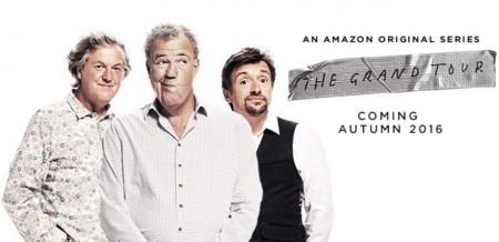 """""""The Grand Tour"""", el nombre oficial del nuevo show de Jeremy Clarkson, James May y Richard Hammond en Amazon Prime"""