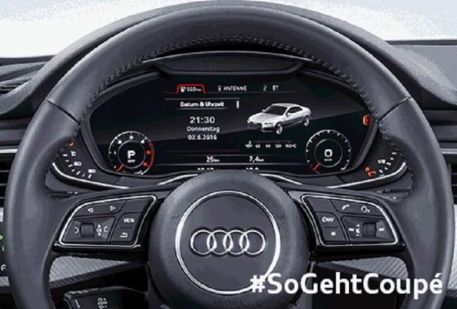 Este Es El Nuevo Audi A5 Coupe 2017 Visto Desde Su Cuadro