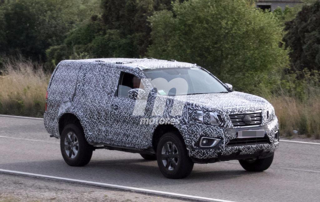 Avistada la primera mula de pruebas del futuro SUV basado en el Nissan Navara