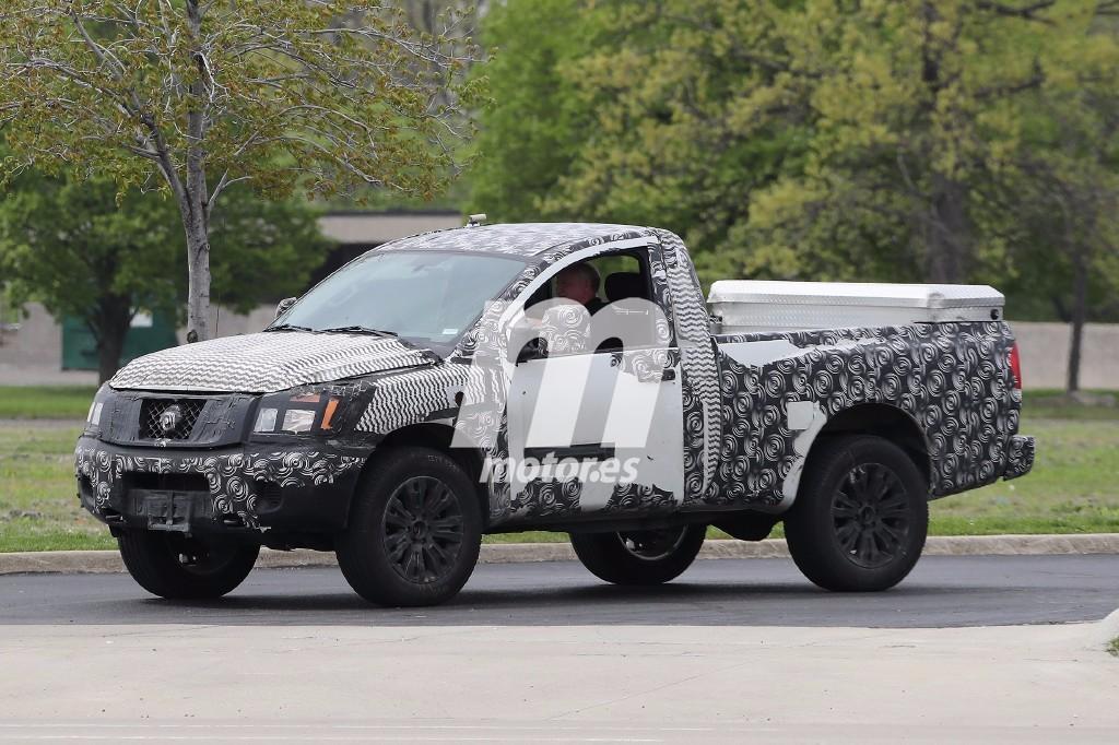 La Nissan Titan de nueva generación también llegará en formato dos puertas
