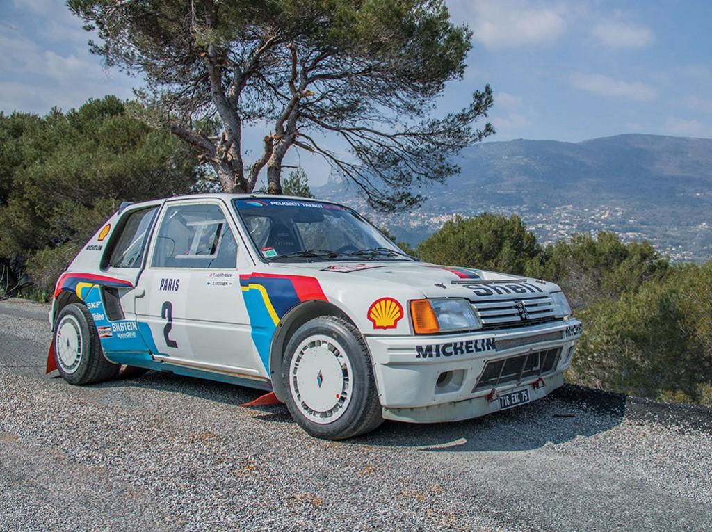 El Peugeot 205 T16 de Ari Vatanen, a subasta