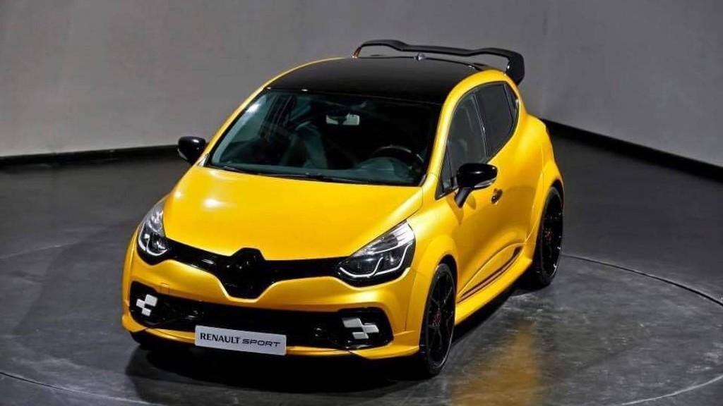 Renault Sport presentará un brutal prototipo del Clio RS, ¡con más de 250 CV!