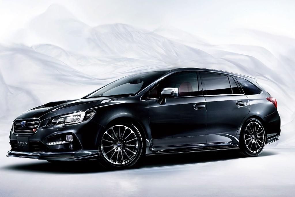 Subaru Levorg STi, estilo y chasis más deportivos para el familiar nipón
