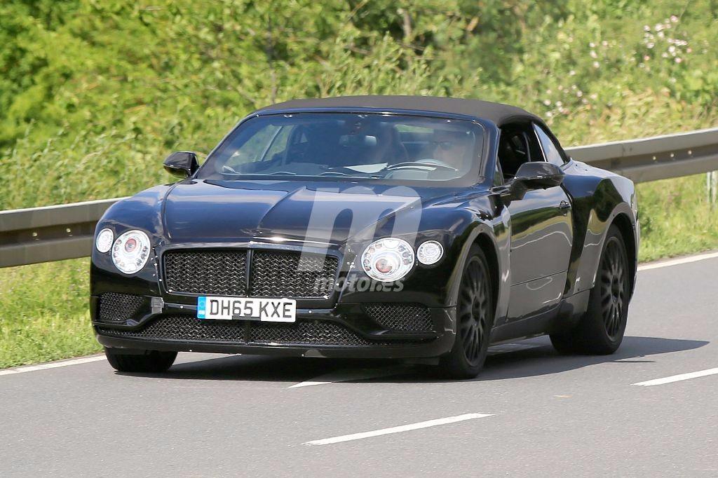 El nuevo Bentley Continental GT Cabrio sale a pasear con el buen tiempo