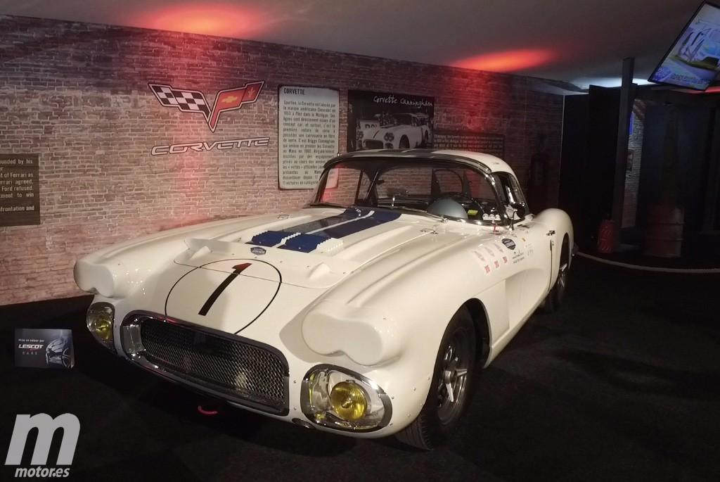 Las primeras imágenes del desaparecido Corvette Cunningham número 1 de Le Mans