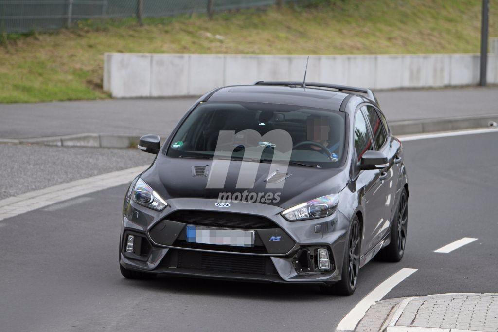 Se terminaron los rumores, el Ford Focus RS500 cazado de pruebas